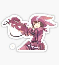 SAO Alternative gun gale LLEN Sticker