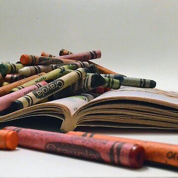 Crayons by bradleyduncan