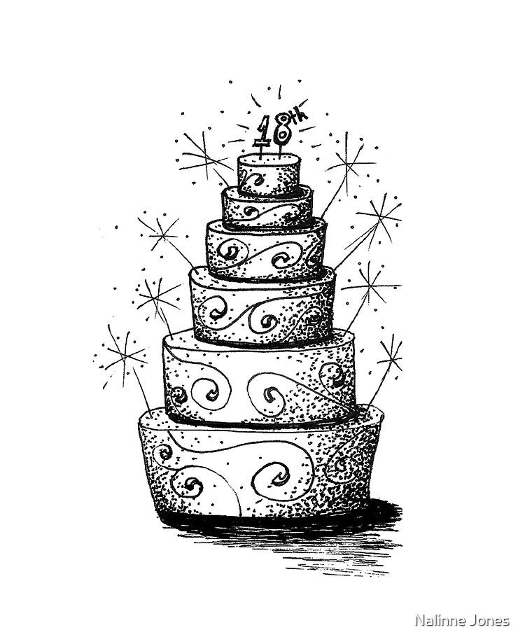 Superb 18Th Birthday Cake Doodle Ipad Case Skin By 1Redbublppasswo Funny Birthday Cards Online Fluifree Goldxyz