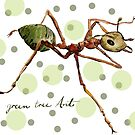 Green Tree Ant by michdevilish