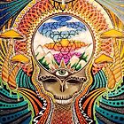 Psychedelic Grateful Dead by jessification