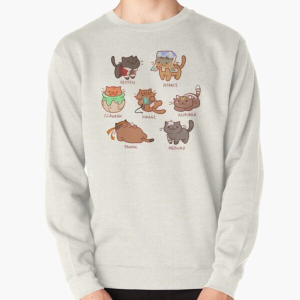 Form Nyaatron! Pullover Sweatshirt