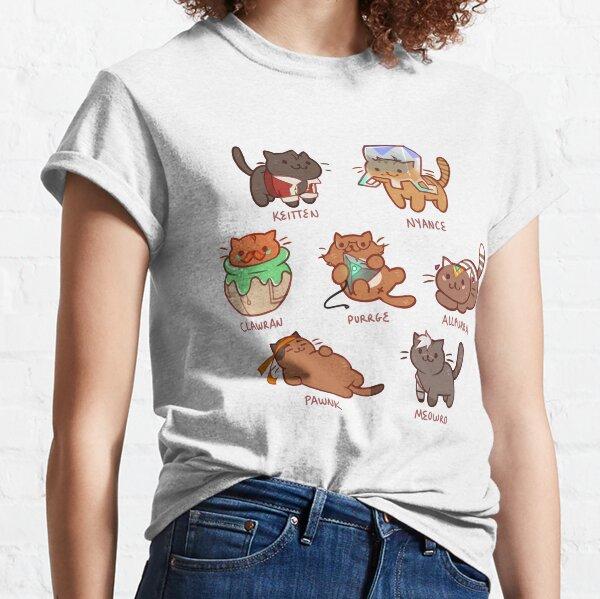Form Nyaatron! Classic T-Shirt