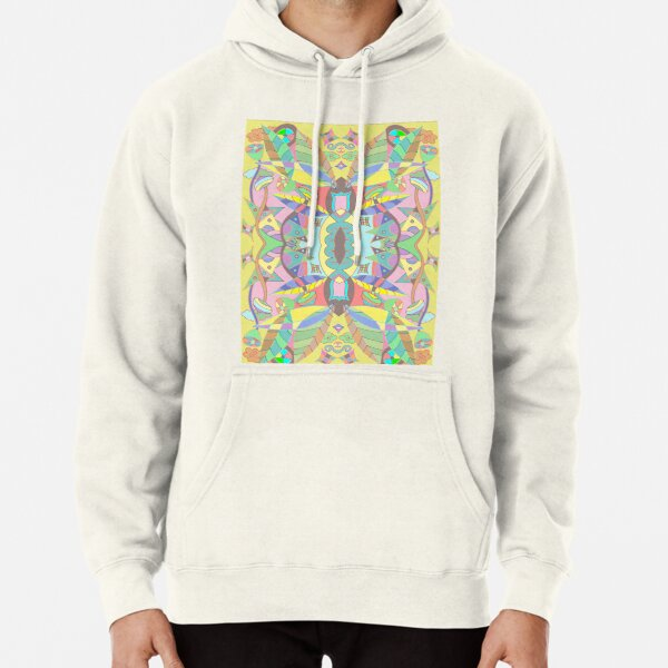 Leaves abstract pattern Pullover Hoodie