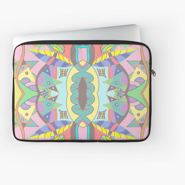 Leaves abstract pattern Laptop Sleeve