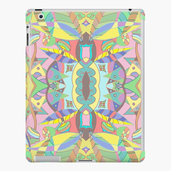 Leaves abstract pattern iPad Snap Case