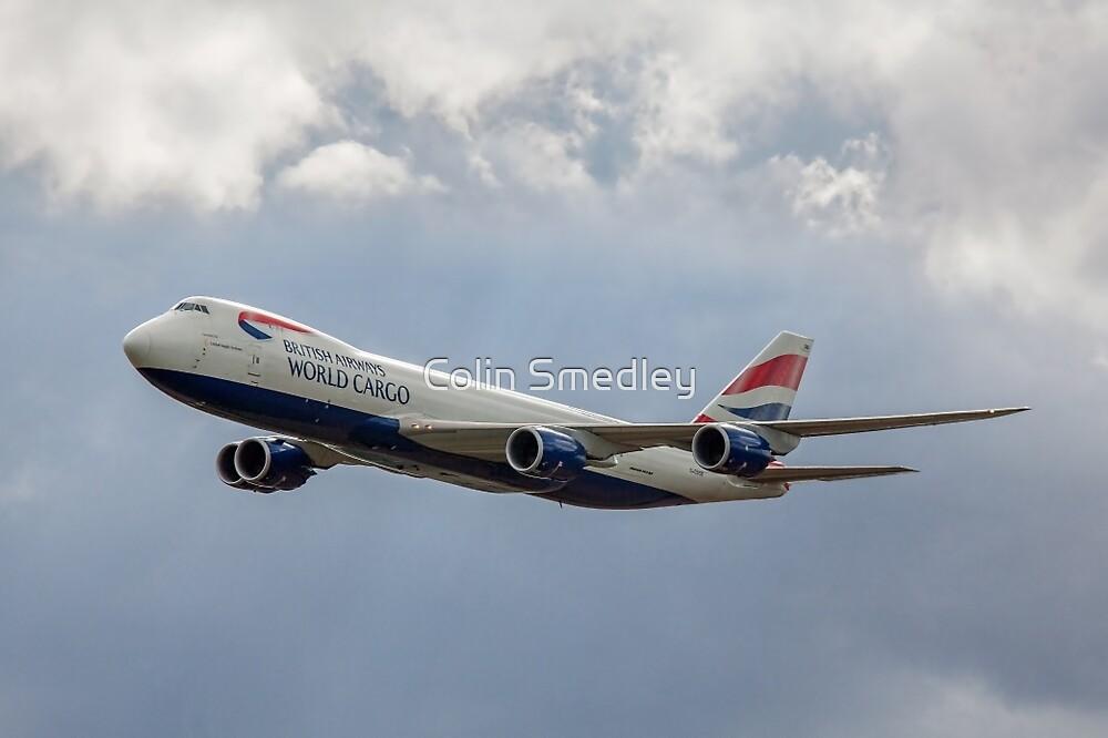 Boeing 747-87F G-GSSD BA World Cargo by Colin Smedley