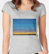 Western Stars original painting Women's Fitted Scoop T-Shirt
