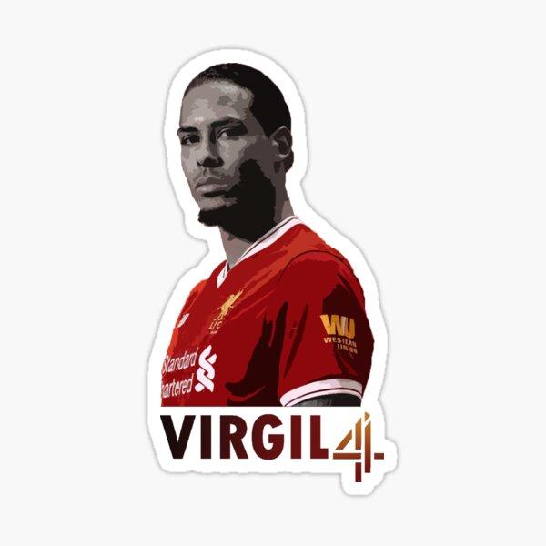 Virgil Van Dijk Liverpool Sticker