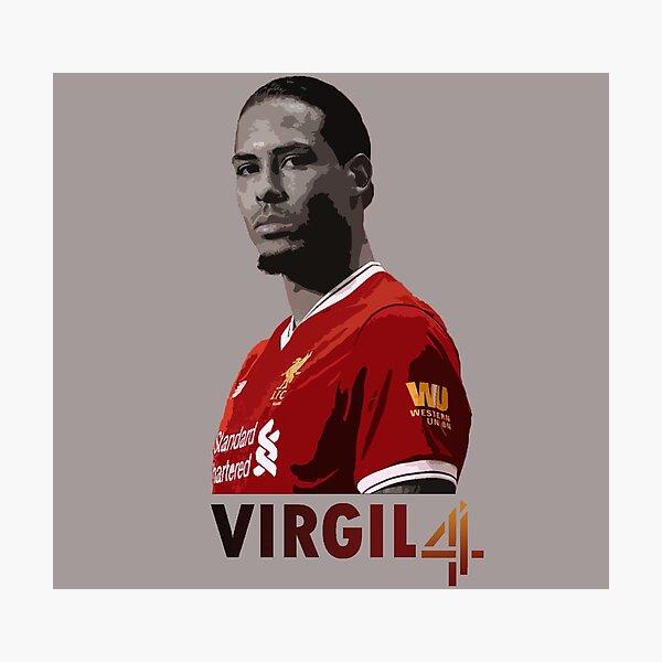 Virgil Van Dijk Liverpool Photographic Print