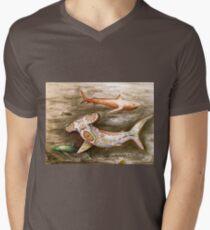 hammer head decorative sharks Mens V-Neck T-Shirt