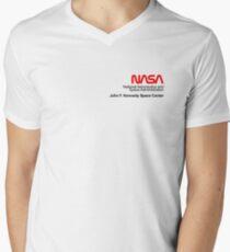 NASA x Vans (Space White) Men's V-Neck T-Shirt