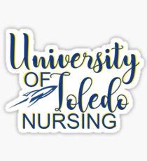 University of Toledo NURSING Sticker