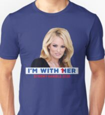 I'm With Her - Stormy Daniels Unisex T-Shirt