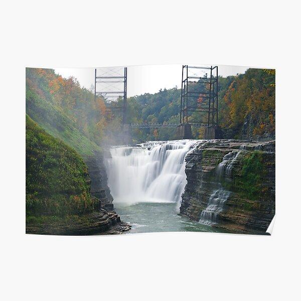 Upper Waterfalls II Poster