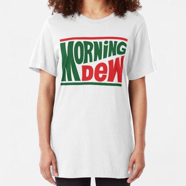 Grateful Morning Dew Slim Fit T-Shirt