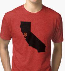 San Francisco Giants - California Tri-blend T-Shirt