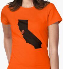 San Francisco Giants - California Women's Fitted T-Shirt