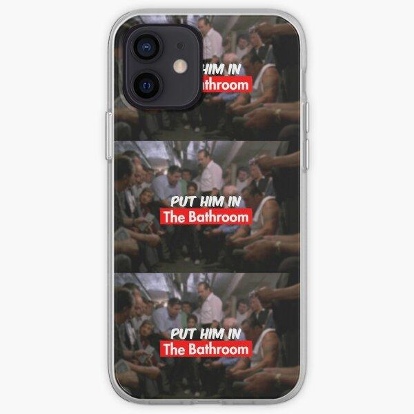 put him in the bathroom iPhone Soft Case