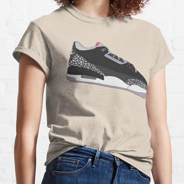 Jordan 3 - Black Cement Classic T-Shirt