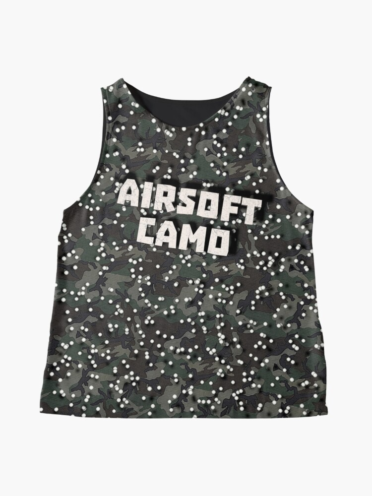 Alternate view of Airsoft Camo Sleeveless Top