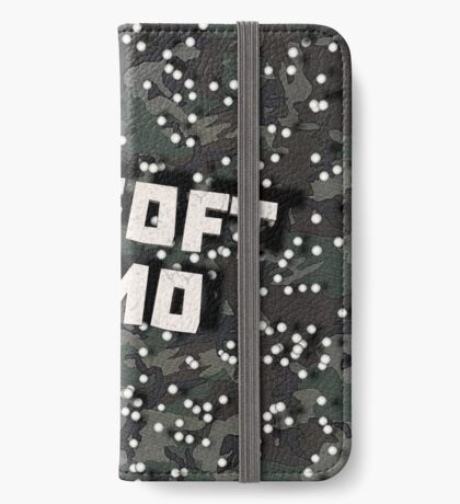 Airsoft Camo iPhone Wallet
