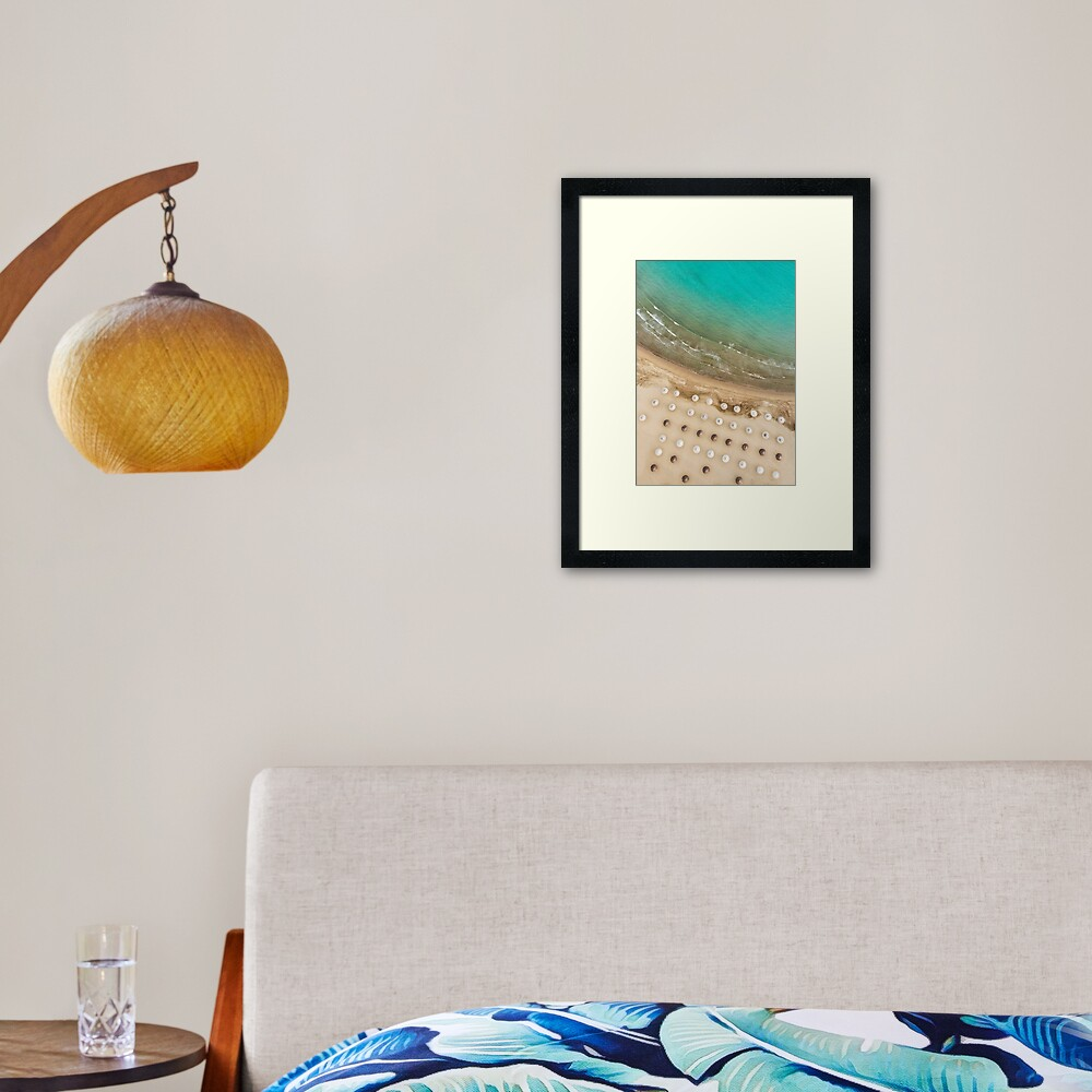 Missing Summer Framed Art Print