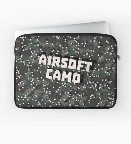 Airsoft Camo Laptop Sleeve