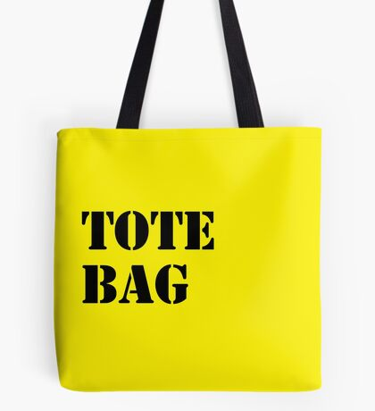 NDVH Fine Fare Yellow Pack Tote Bag