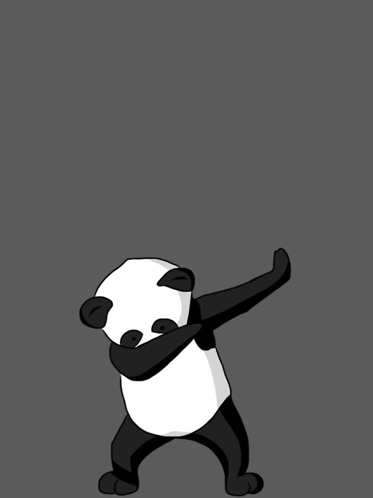 Dabbing Party Panda by TGdigital