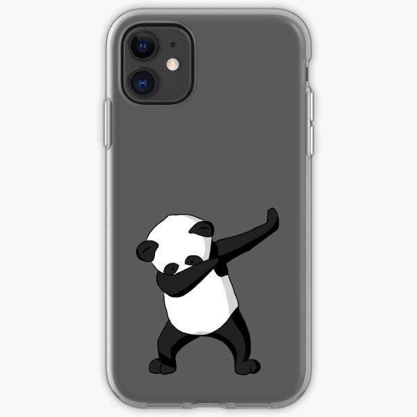 Dabbing Party Panda iPhone Soft Case