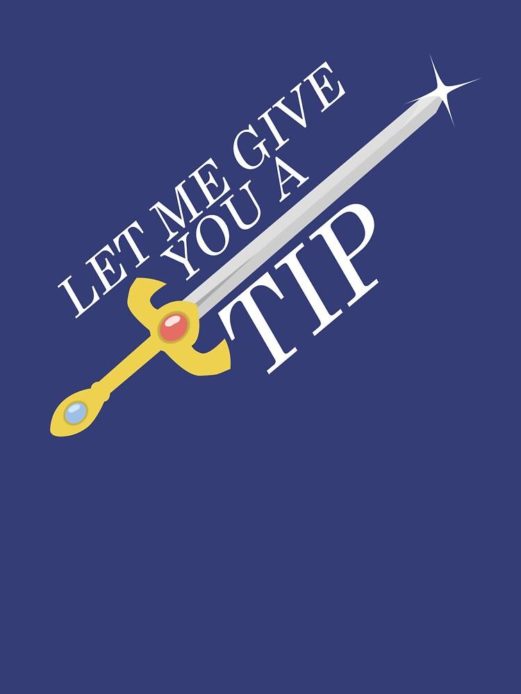 Let Me Give You a Tip - Super Smash Bros. [Fire Emblem] | Unisex T-Shirt