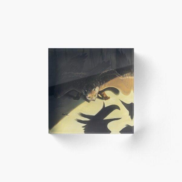Cornered Gryphon Acrylic Block