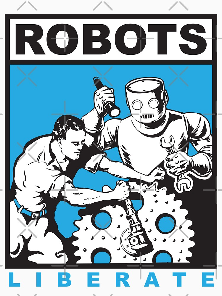 Robots liberate humans by kislev