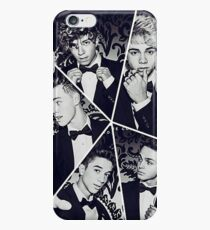 black and white collage iPhone 6 Case