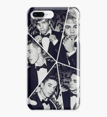 black and white collage iPhone 8 Plus Case