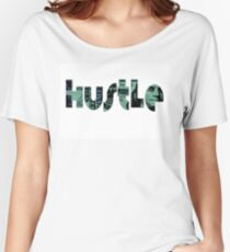 Hustle Design Money in Words Women's Relaxed Fit T-Shirt