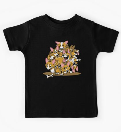 Corgi Cluster Kids Clothes