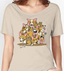 Corgi Cluster Women's Relaxed Fit T-Shirt