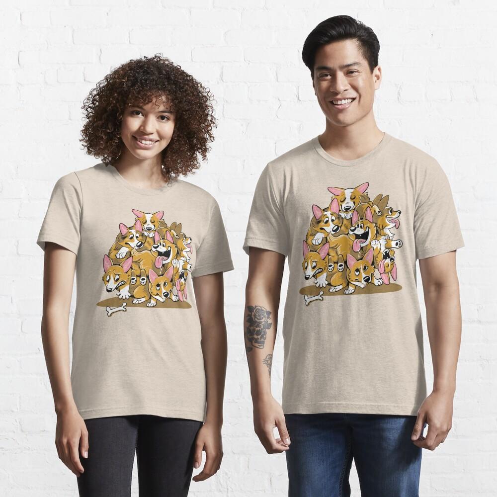 Corgi Cluster Essential T-Shirt