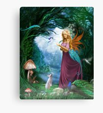 A Day In The Forest... Canvas Print