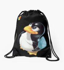Penguin Linux Drawstring Bag