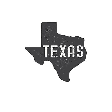 Texas Map by peanutroaster