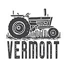 Vermont Vintage Tractor by Edward Fielding