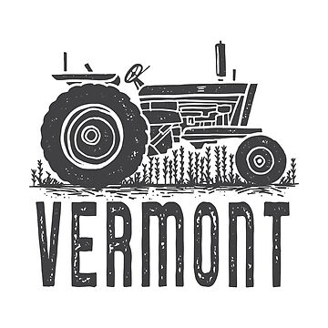 Vermont Vintage Tractor by peanutroaster