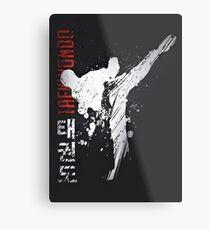 Taekwondo Metal Print