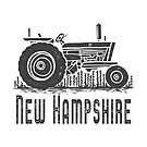 New Hampshire Vintage Tractor by Edward Fielding