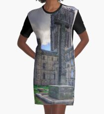 Durham Light Infantry Memorial Cross Graphic T-Shirt Dress