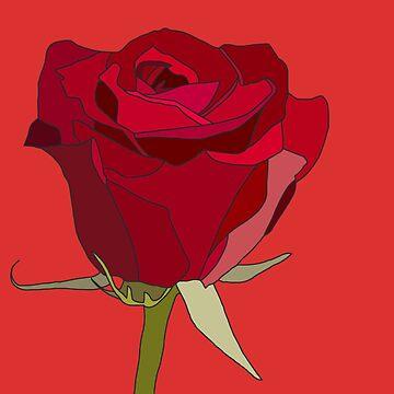 Ästhetische Rose von Rocket-To-Pluto