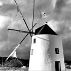 Old Windmill in Odiáxere, Lagos, Algarve by WesternExposure